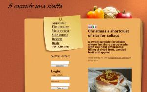 realizzazione sito web tiraccontounaricetta