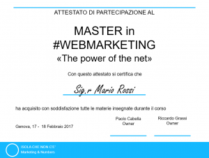 attestato2018 corsowebmarketing